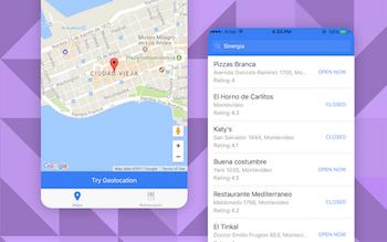Ionic Maps Starter