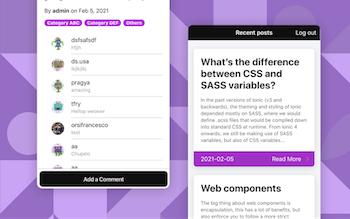 Ionic Wordpress Starter