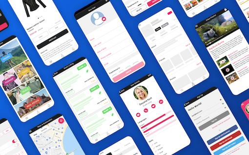 Ionic 5 Full Starter App - PRO version