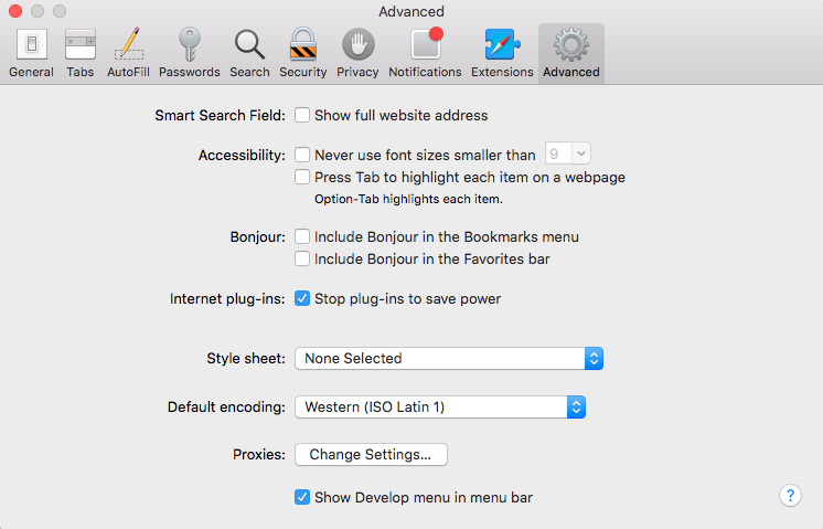 Ionic debug on Safari