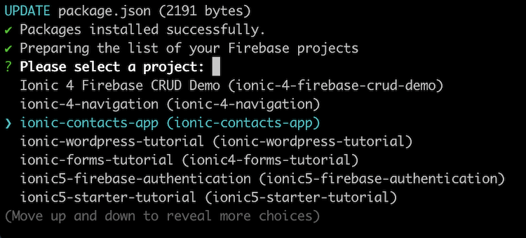 install angularfire
