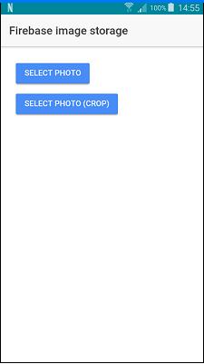 ionic firebase save image