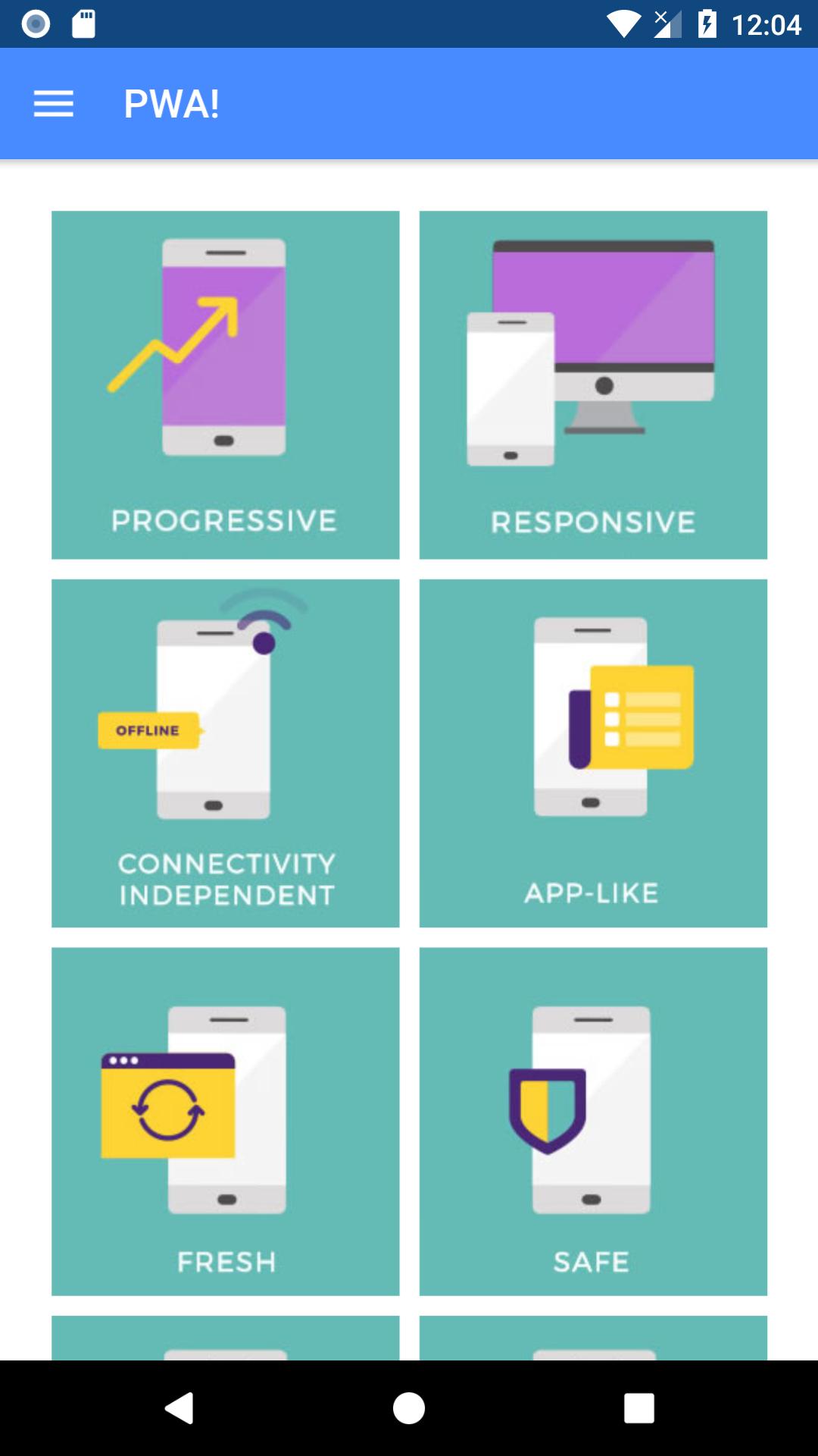progressive web apps in ionic